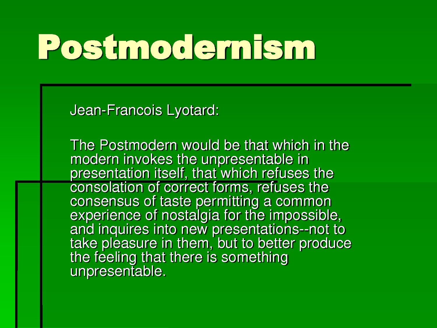 Postmodernism jean francois lyotard epigrams quotes renowned postmodernism jean francois lyotard postmodernismpost modernmystic definitionspsychologyphilosophywritersliteratureaesthetics biocorpaavc