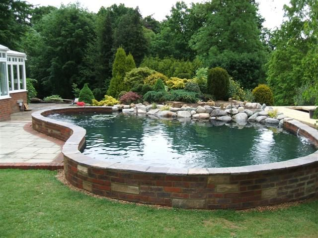 pool pond | Pond Construction - Pond cleaning \u0026 pond construction ... - garden pond design and construction