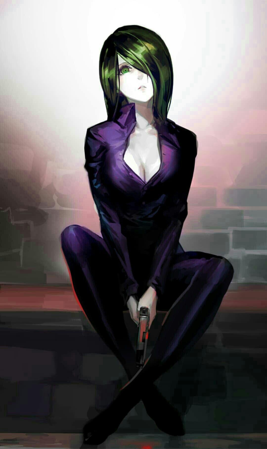 Lady Joker Project edit  Anime art girl, Dark anime, Tokyo ghoul