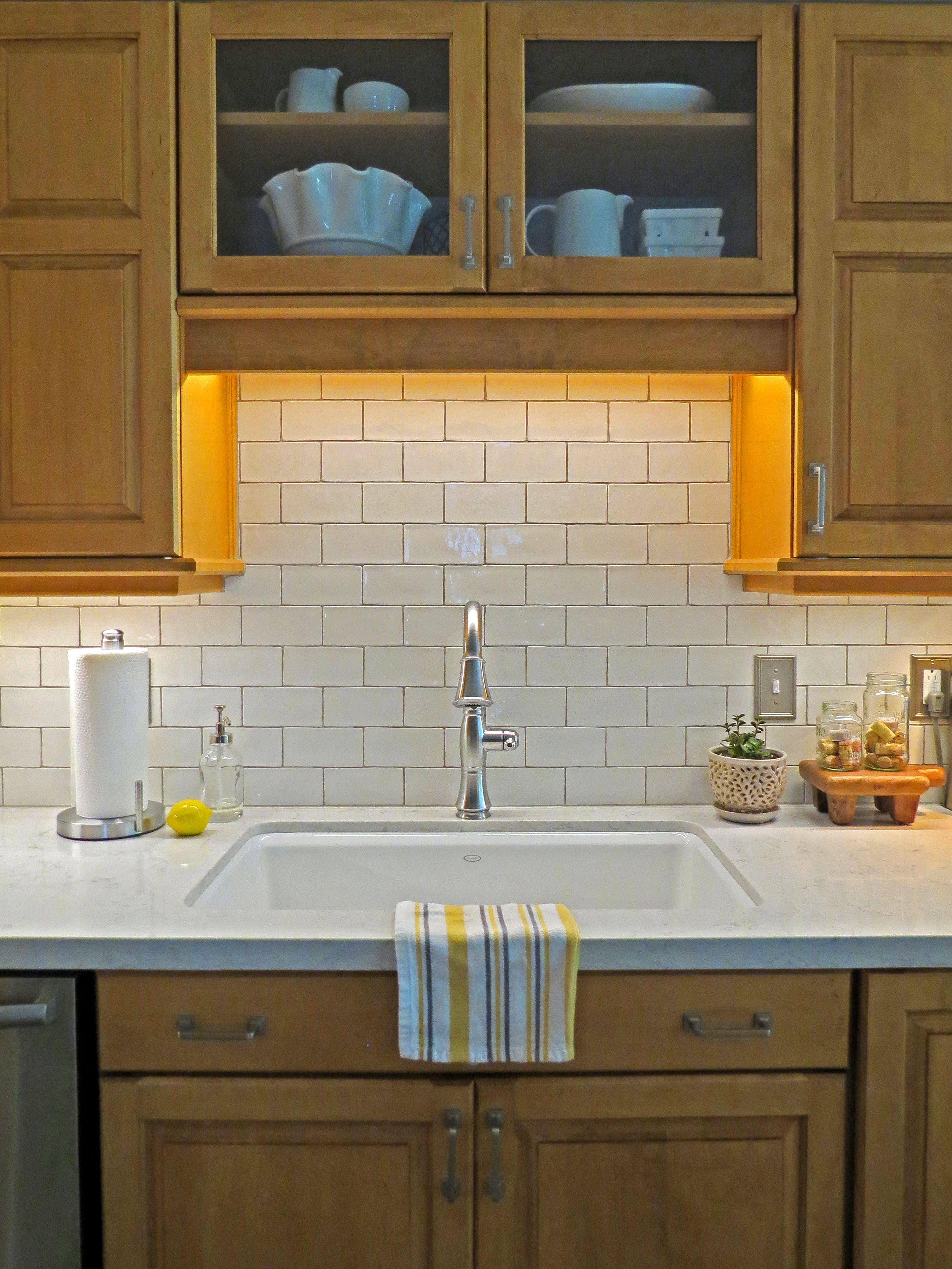 Nanda Acquarella handmade Spanish tile back splash. | Our Kitchen ...