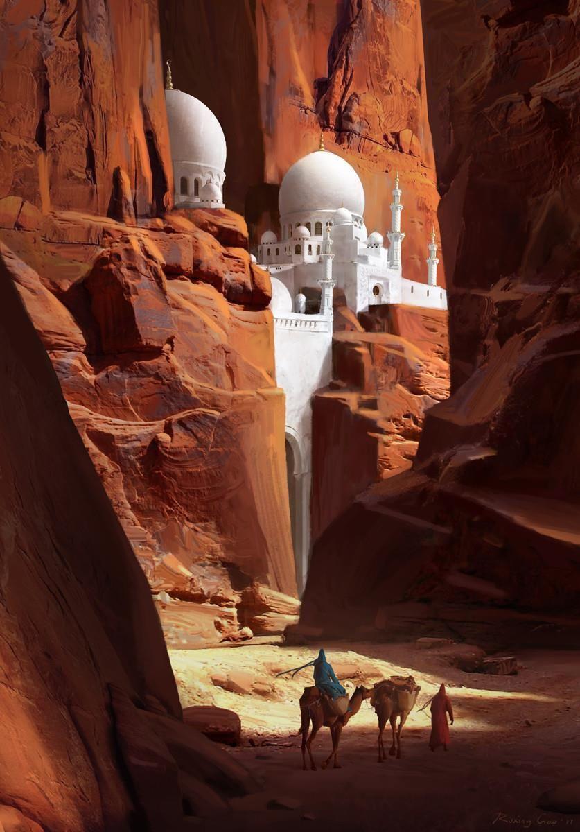 voyage www.travelmotiv.com #paysage | Fantasy landscape, Fantasy city,  Environment concept art