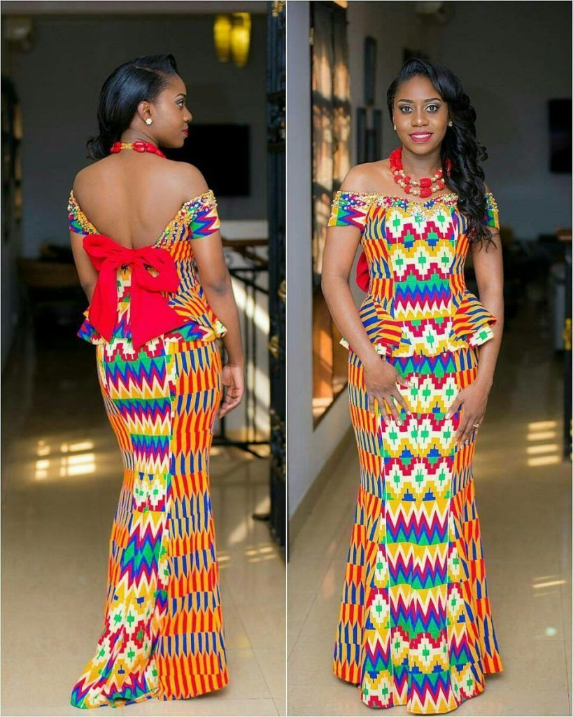Ankara styles for wedding occasion nigerianafrican fashion and