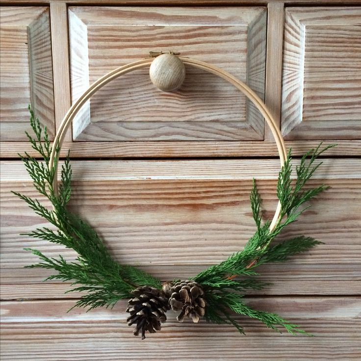 Christmas Embroidery Hoop Wreath.Embroidery Hoop Wreath Wreaths For All Seasons Christmas