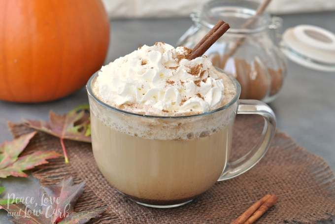 Pumpkin Spice Boosted Keto Coffee #pumpkinspiceketocoffee