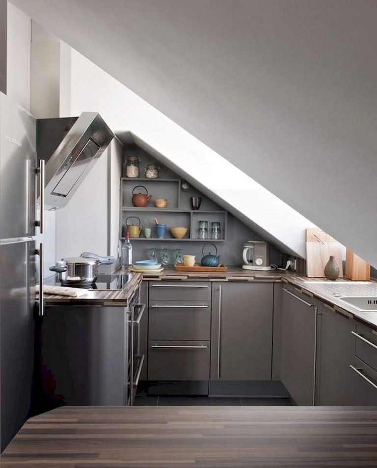 71+ Smart Designs Features Maximize Space Attic Apartment #atticapartment