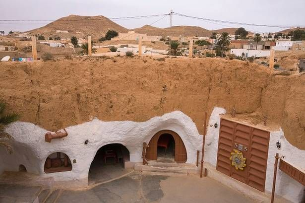 Matmata Tunisia Home To The Famous Underground Troglodyte Homes