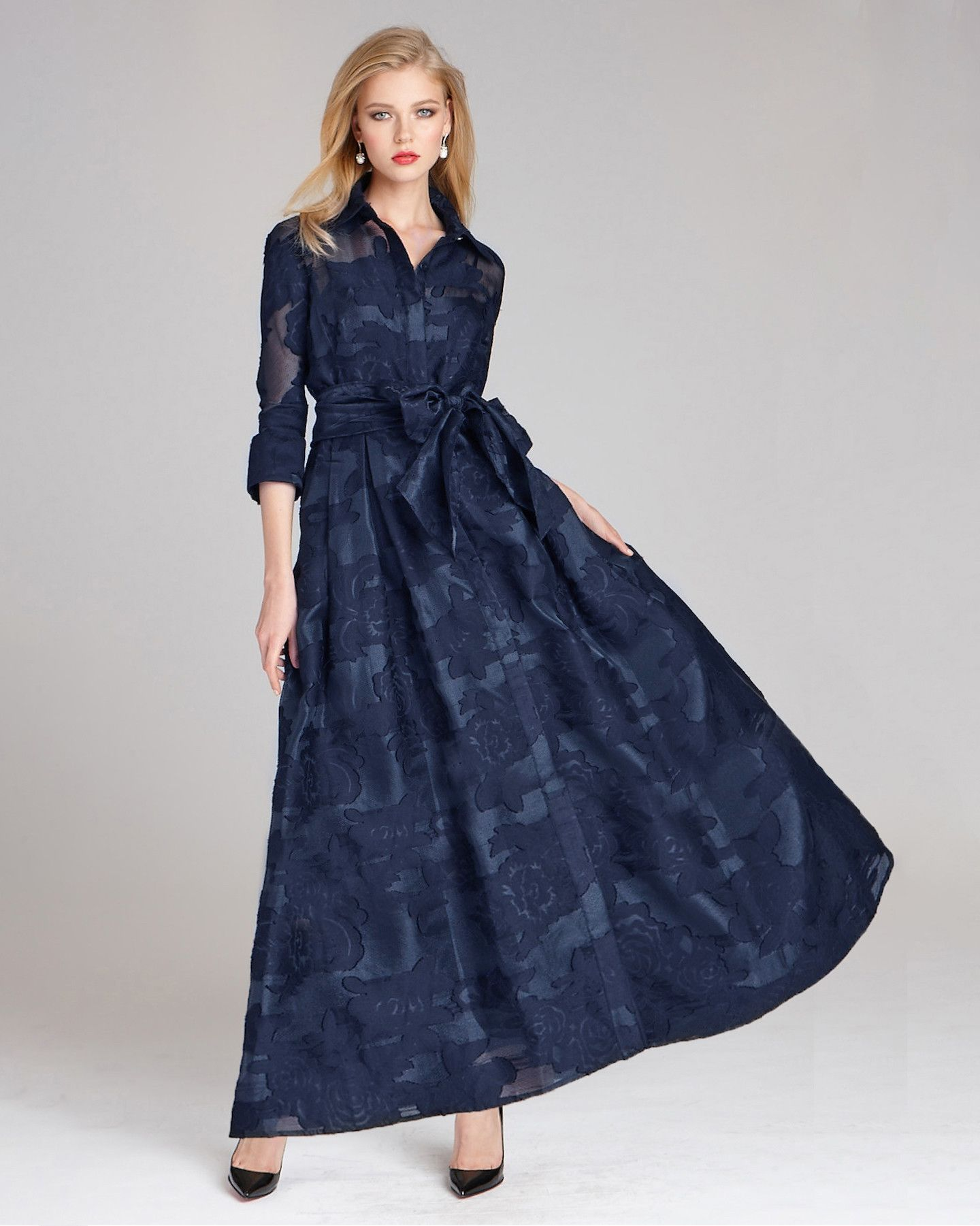 35 Navy Dresses for Classic Mothers of the Bride and Groom ...