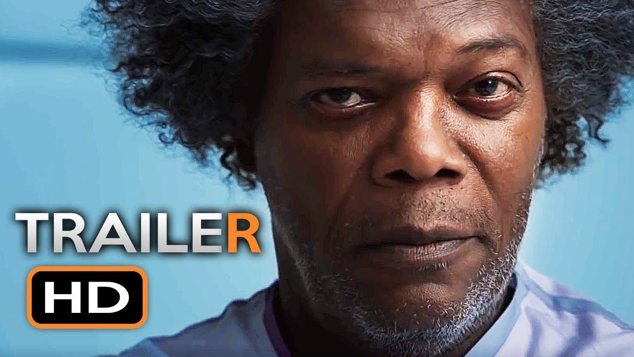 Glass (2019) Film trailer Thriller movie, Thriller