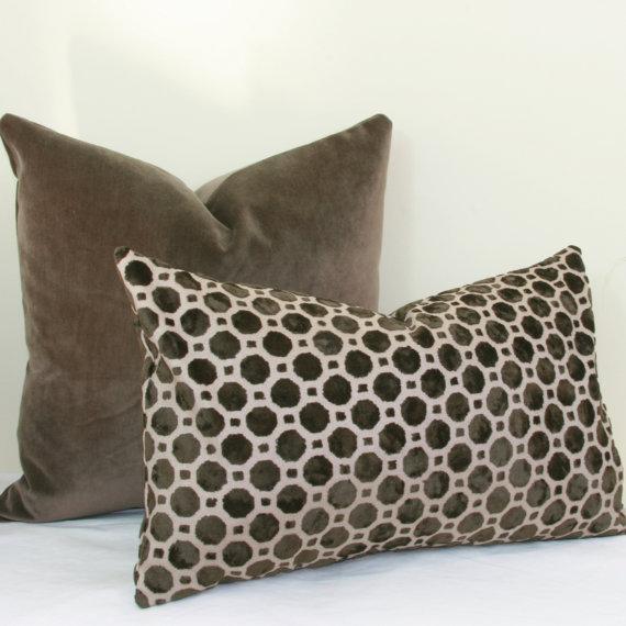 Geometric Throw Pillow Covers 12x20
