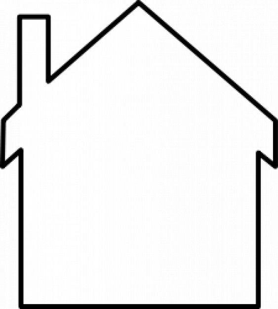 Siluetas de casas para colorear imagui cc sociais - Dibujos de casas para imprimir ...