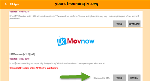 How To Install UK Movnow APK On Android – Your Streaming TV