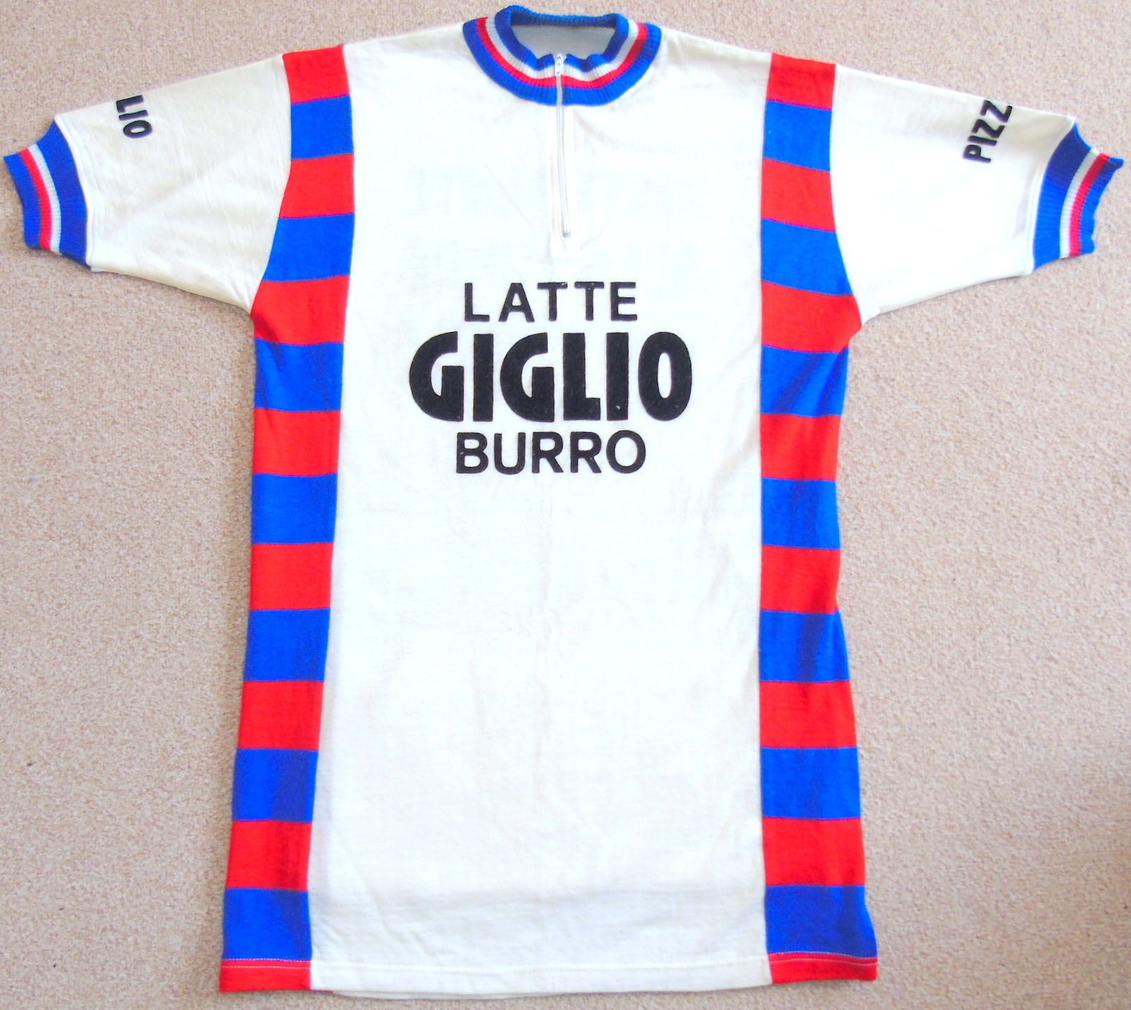 c85411c9f Biking · Cycling Gear · VERY GOOD CONDITION 1970 S WOOL TEAM JERSEY FOR  EROICA. LARGE   EXTRA LARGE