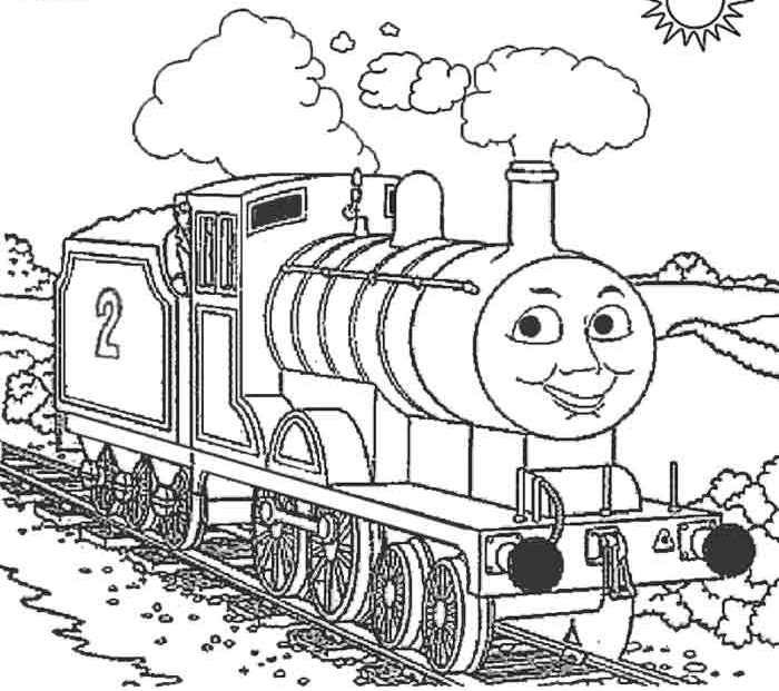 Edward The Train Coloring Pages Coloring Pages For Boys