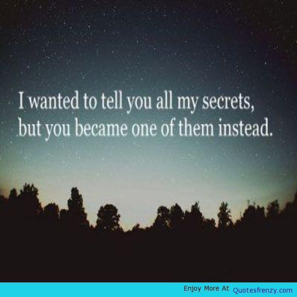 Secrets You Crush Crushquotes Love Lovequotes Hidden ...