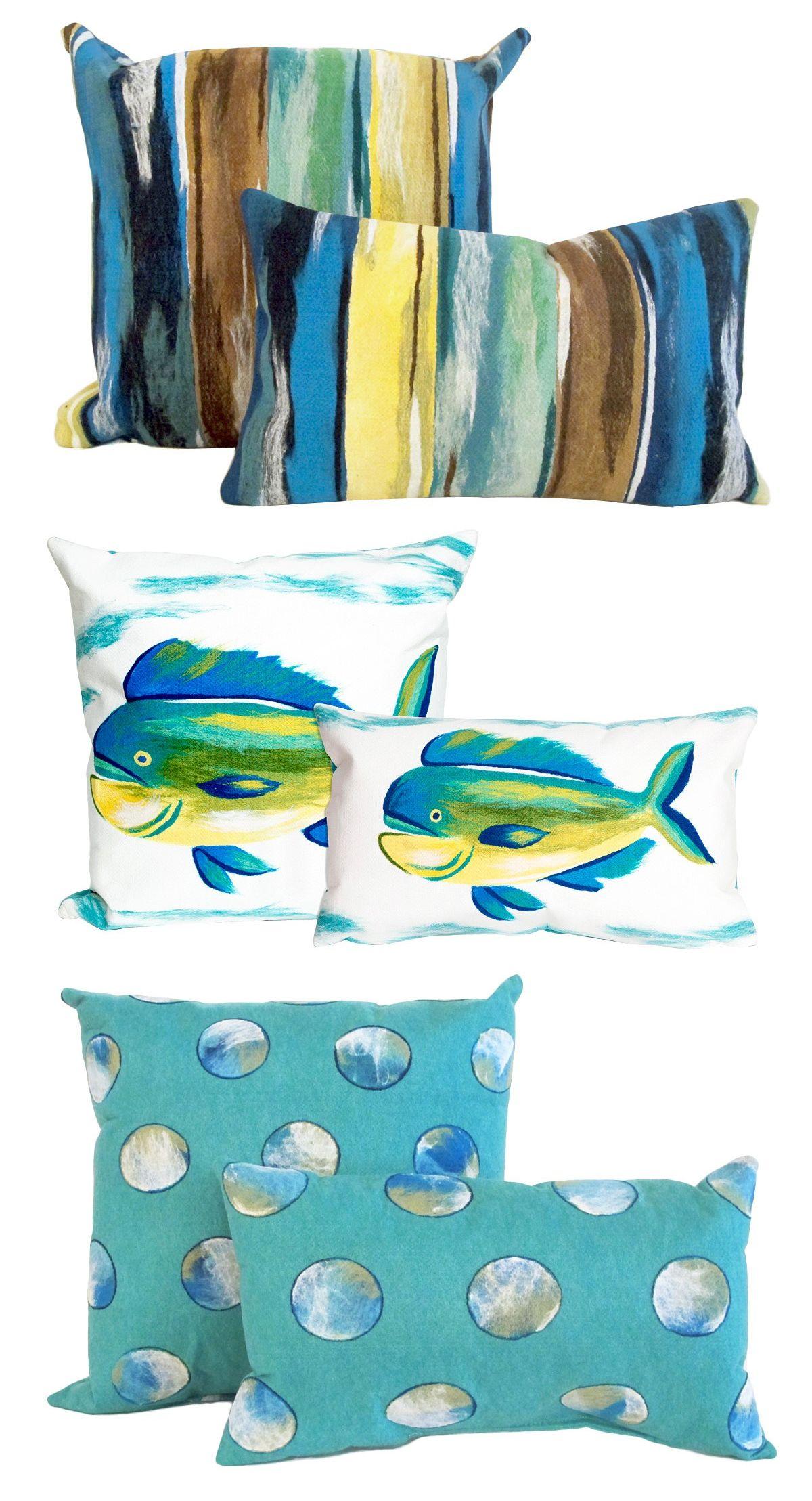 Oceanside or Lakeside Pillows!