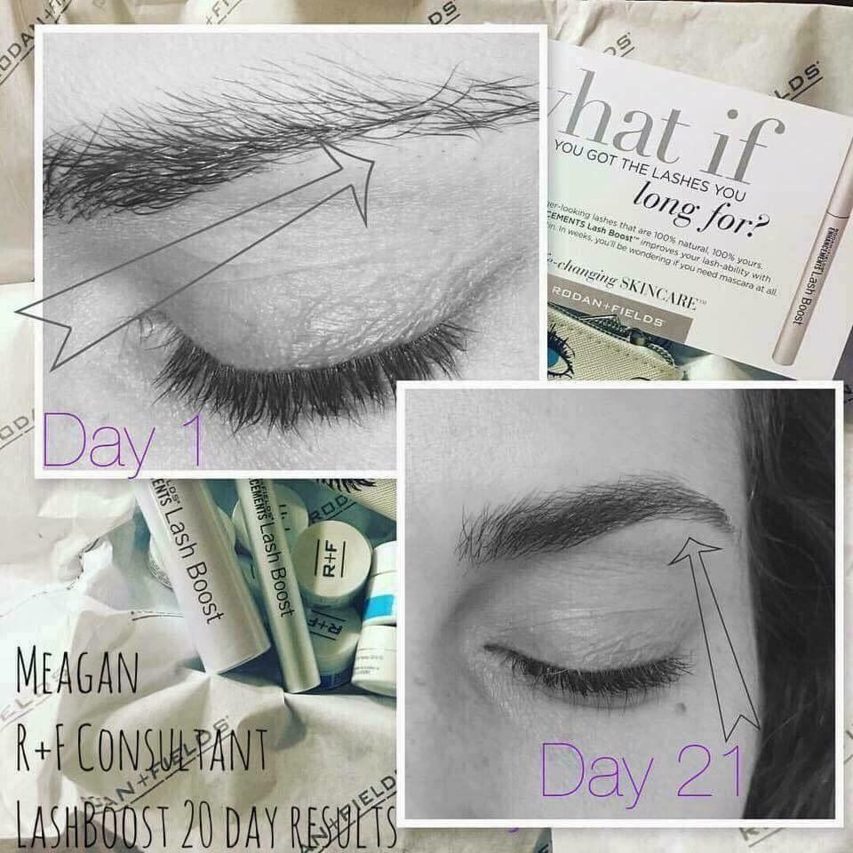 b45983b2148 LASH BOOST turned BROW BOOST! Meagan used LASH on her eye brows. Here is