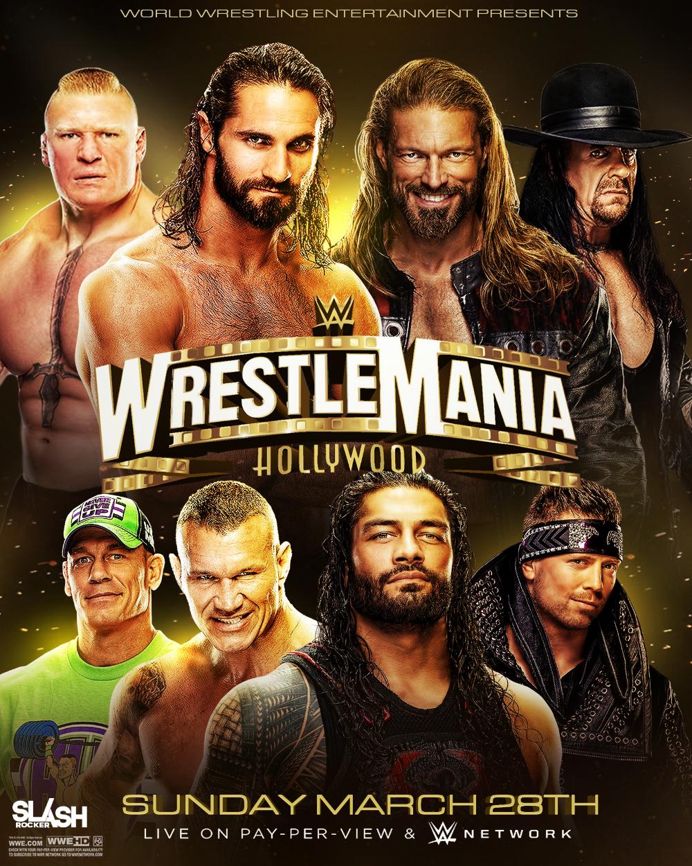 Wwe Wrestlemania 37 Poster By Wweslashrocker54 On Deviantart Wwe Wrestling Wwe Wrestlemania
