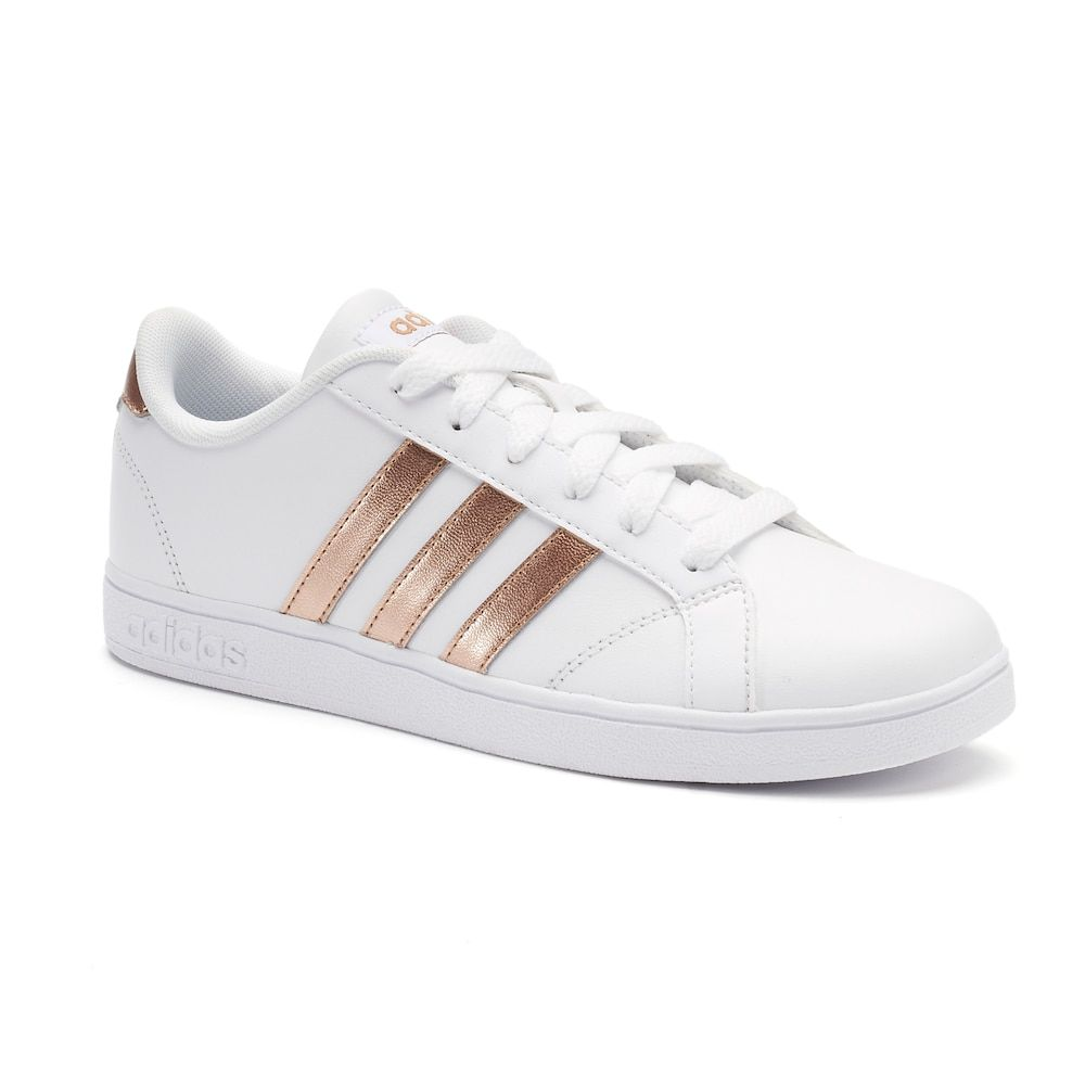 wholesale dealer a63da 04431 Adidas NEO Baseline Kids Shoes, Kids Unisex, Size 7, White