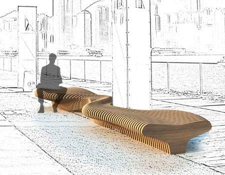 Mobiliario urbano que se adapta al espacio p blico urban for Mobiliario espacio publico