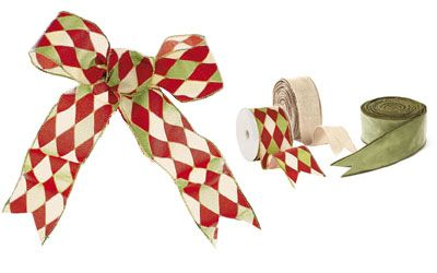 how to make a big ribbon bow for car