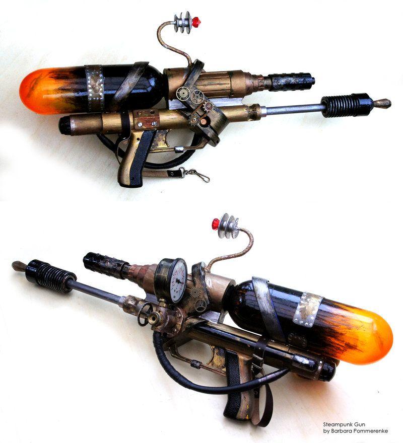 *Steamy* Gun by ~BarbaraPommerenke on deviantART