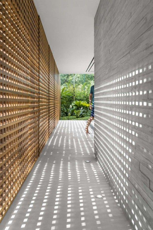 Maison En Bord De Mer Par Studio Mk27 Maison D Architecture Modele Architecture Architecture Moderne