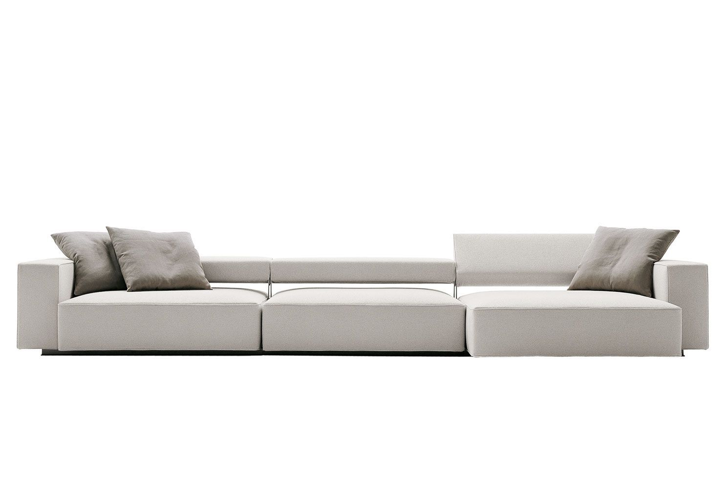 B&B Italia Sofa Andy designed by Paolo Piva, with an adjustable ...