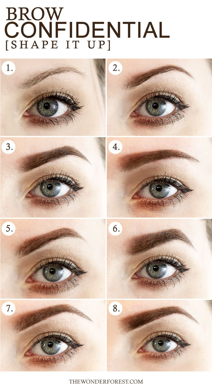 Brow Confidential 8 Different Eyebrow Shapes Makeup Tips