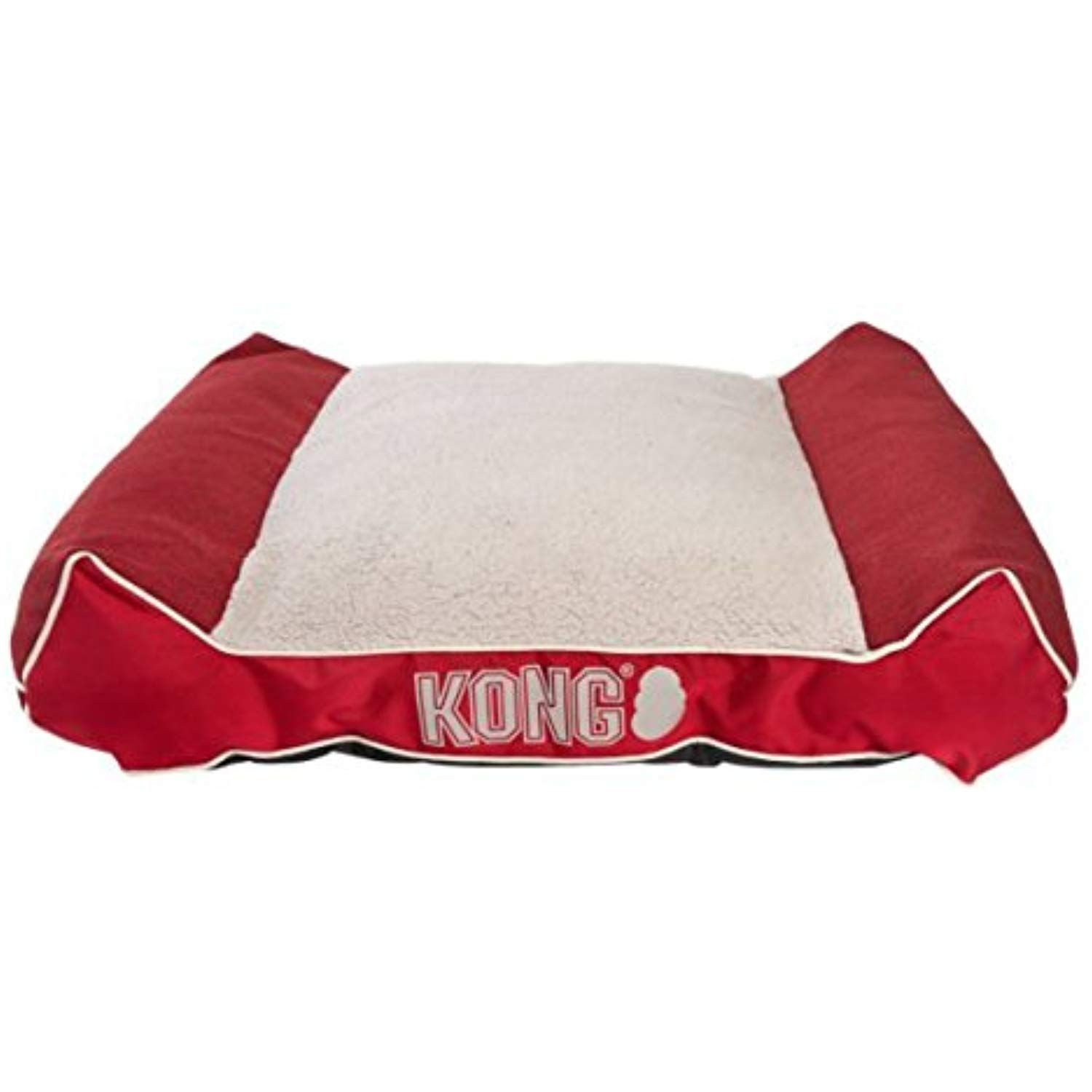 Kong Plush Lounger Dog Bed Red See This Great Product This Is An Affiliate Link Dog Bed Dog Pillow Bed Dog Bed Sizes