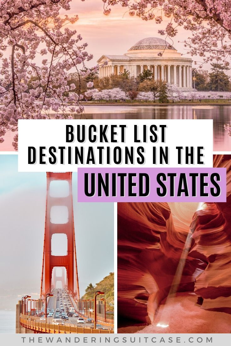 , 11 destinations for your USA Bucket List, My Travels Blog 2020, My Travels Blog 2020