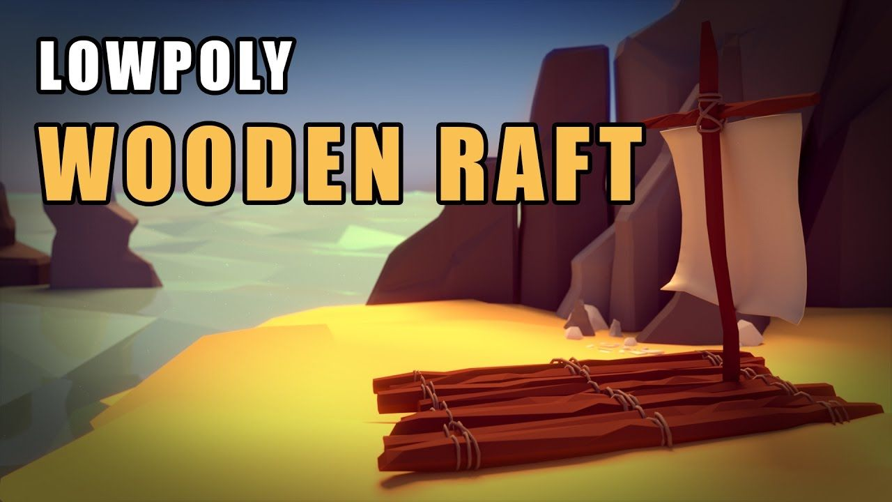 Blender tutorial the low poly wooden raft boat blender blender tutorial the low poly wooden raft boat baditri Choice Image