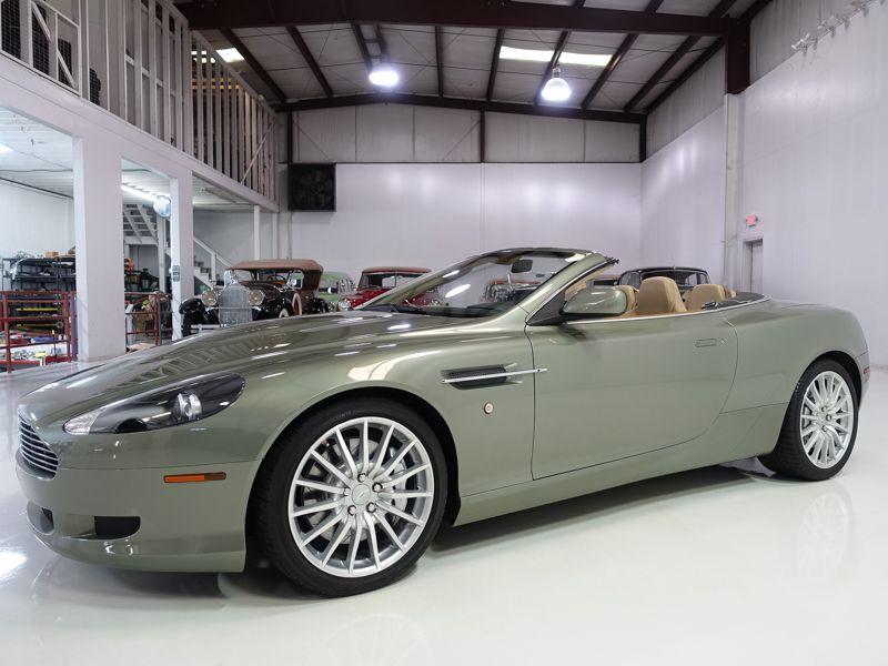 2006 Aston Martin Db9 Volante Convertible Aston Martin Db9 Volante Aston Martin Aston