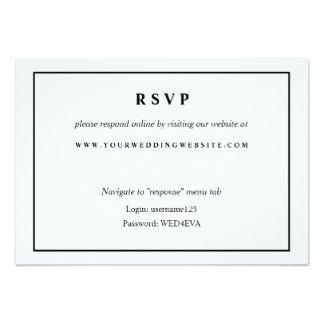 Rsvp Online Card Google Search