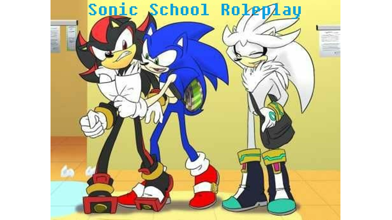 Updates Sonic School Roleplay Roblox