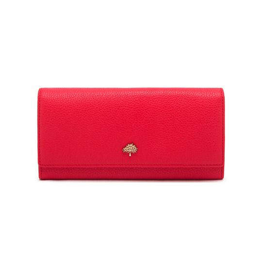 a24395d670 Mulberry: Tree Continental Wallet Hibiscus Small Classic Grain ...