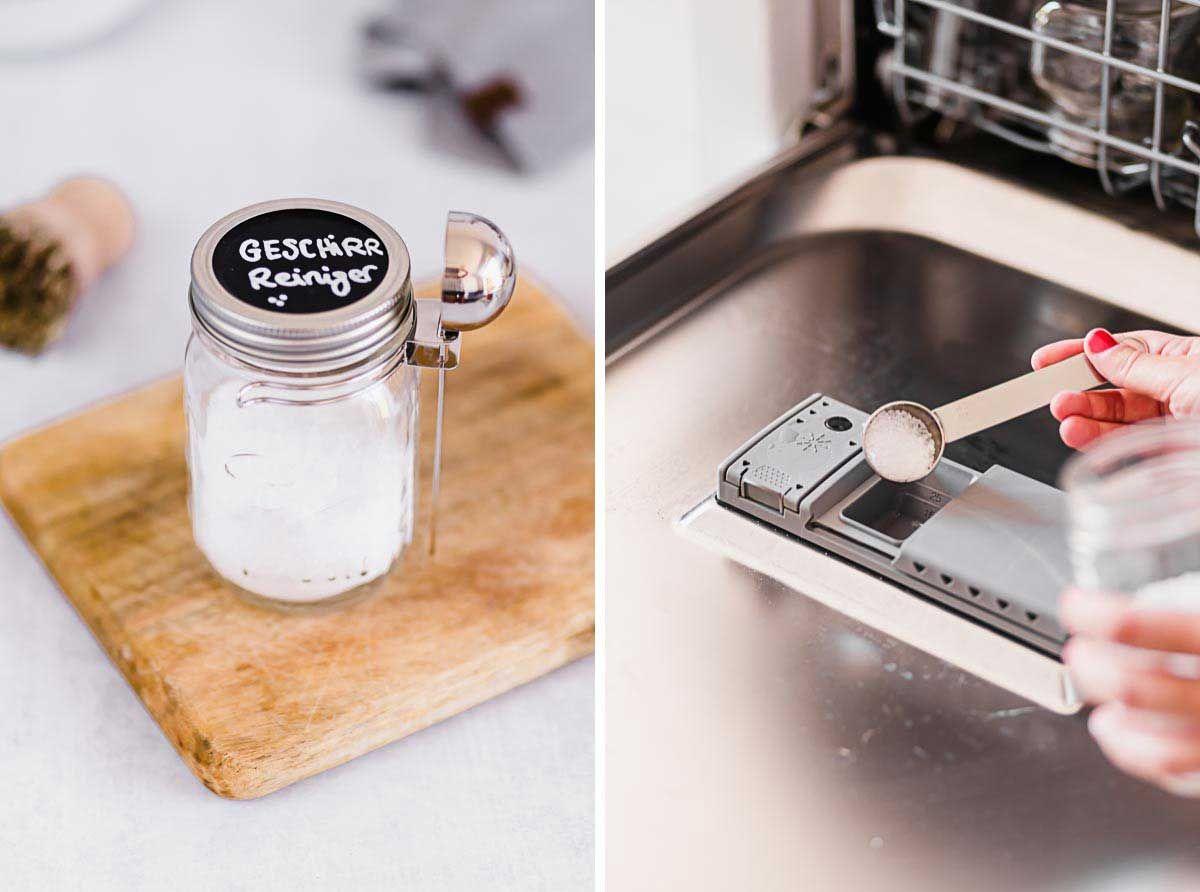 Geschirrspülpulver selber machen Geschirr, Lieblingsglas