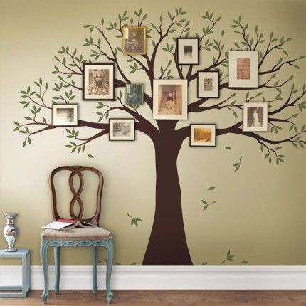 family tree decal #SimpleShapes | Simple Shapes Shop | Pinterest ...