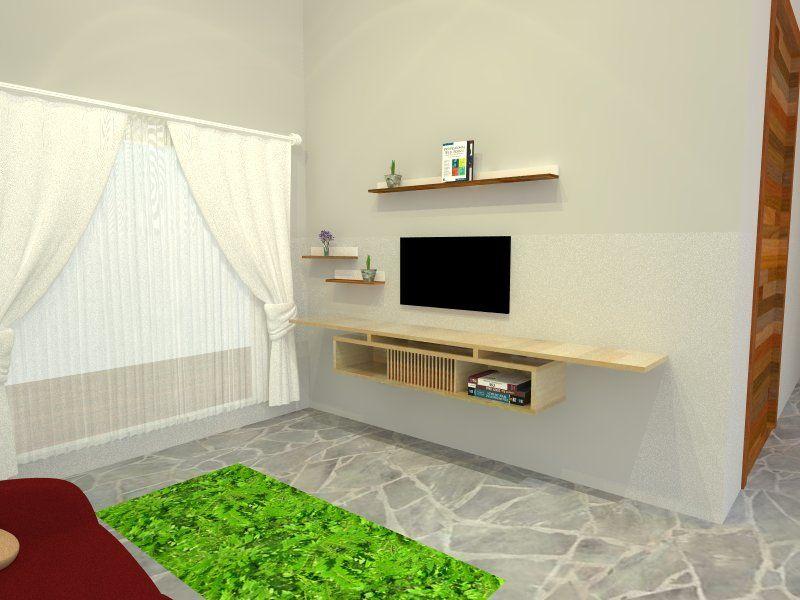 Rak Tv Gantung Simple - MEJADWAL