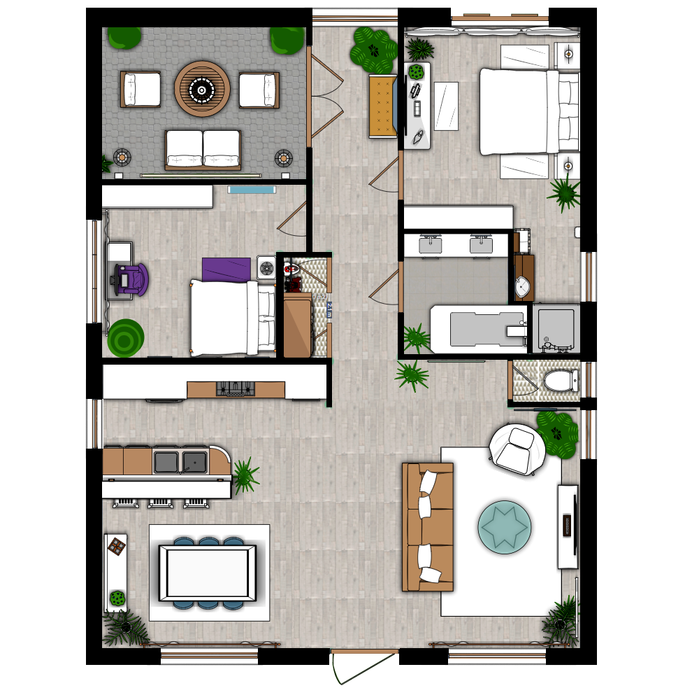 Interior Plan Interior Design Floor Plan Create A Floor Plan And Interior Design In 2d 3d Interior Design Tools Home Design Software Garden Furniture Plans