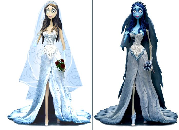 Corpse Bride Wedding Gown: Tim Burton Corpse Bride