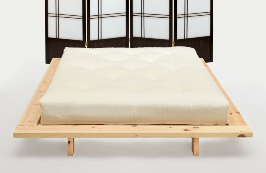 The Japan Futon Bed From Futons247 Low Level Style To Use With Or Without Tatami Mats And A Choice Of Mattress