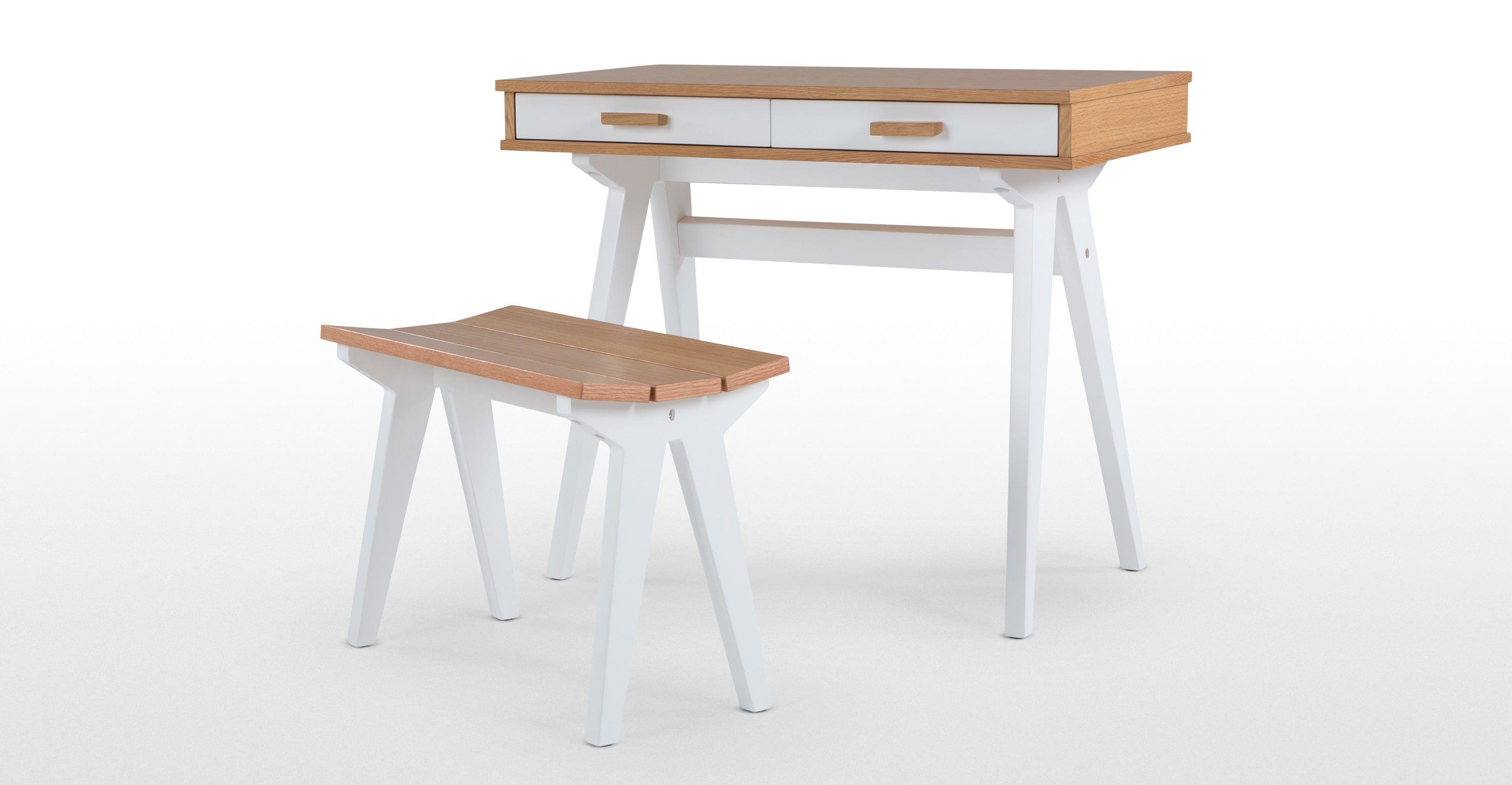 Mini Stroller Schreibtisch Fur Kinder Entdecke Moderne Designmobel Jetzt Bei Made Kid Desk Oak Made Com