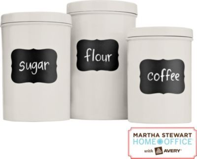 Great for pantry/kitchen storage. Chalkboard obsession!