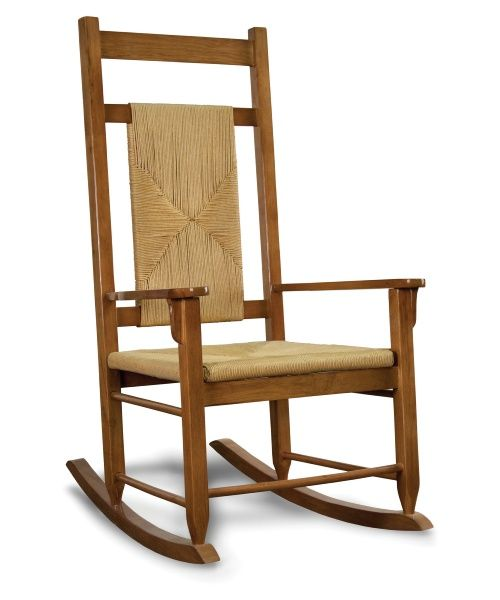 Tortuga Outdoor Traditional Wooden Rocking Chairs - Woven Oak - Outdoor Rocking Chairs at Hayneedle