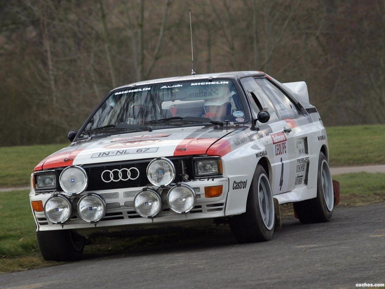 Audi Quattro Group B Rally Car 1983 Audi quattro, Coche