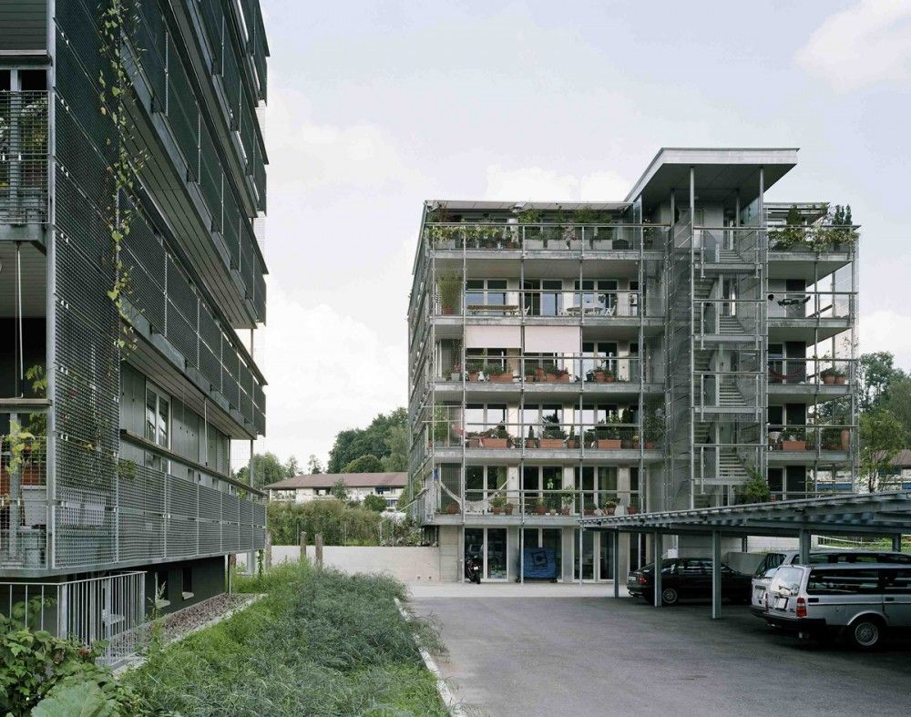 galería de balance concept: uster y fällanden - haerle hubacher, Innenarchitektur ideen