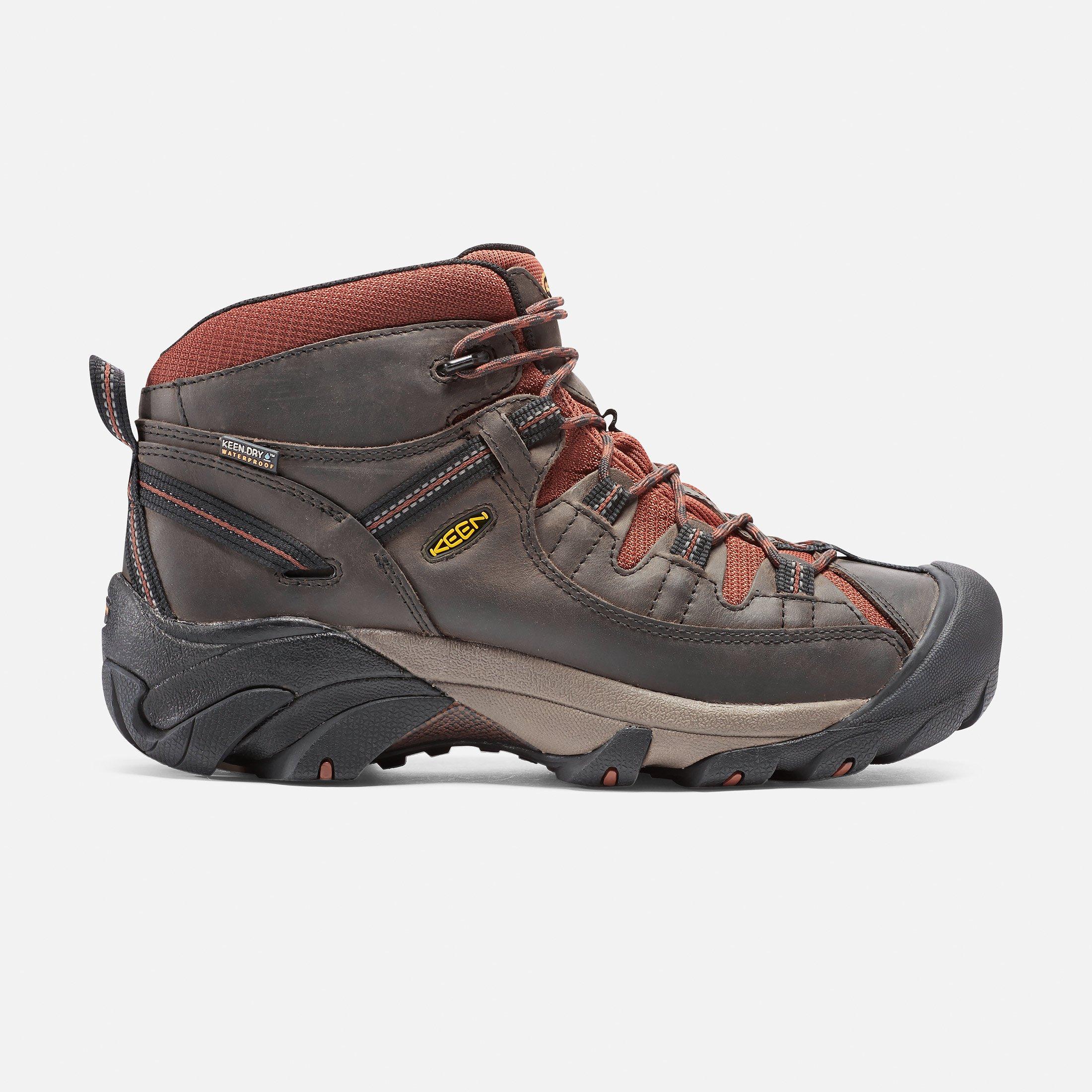 Men S Targhee Ii Waterproof Mid Mens Waterproof Hiking Boots