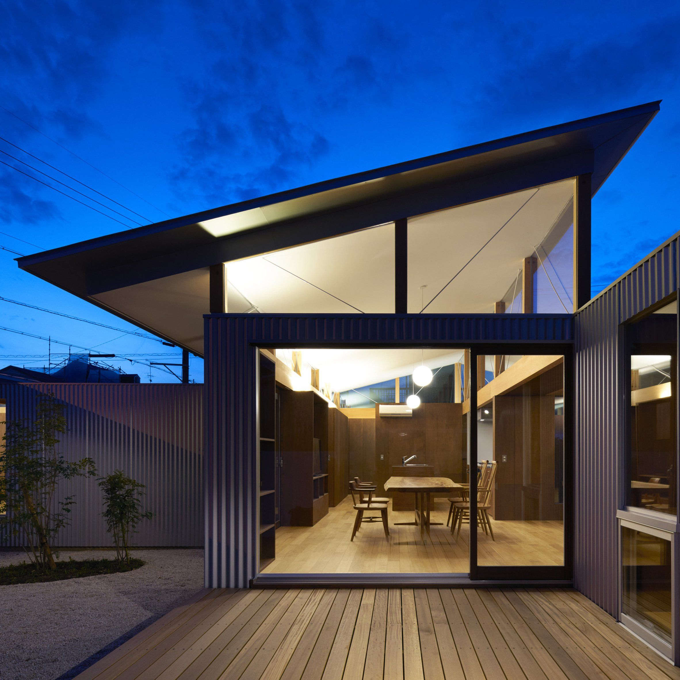 Arii Irie Architects uses angled windows and tilted roofs for ...