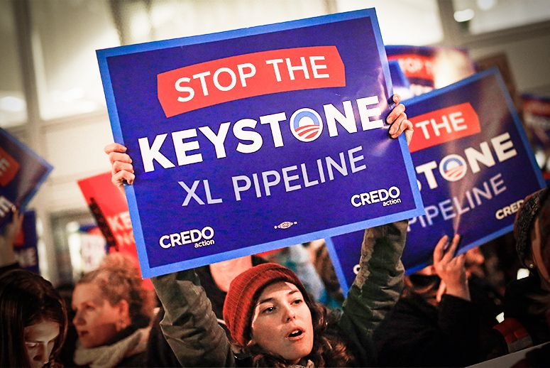 Obama Ups The Ante For Paris Talks With Rejection Of Keystone Xl Xl Pipeline Obama Climate Change