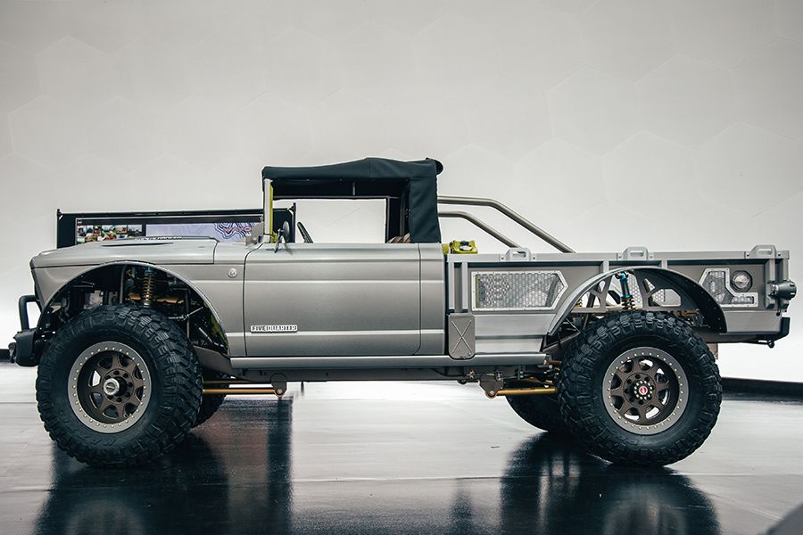 Jeep Rolls Out A Beefed Up M 715 Five Quarter Concept Jeep Hot